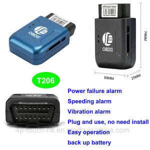 2g/GSM автомобиль БОРТОВОЙ СИСТЕМЫ ДИАГНОСТИКИ GPS Tracker с позиционирования в реальном времени T206
