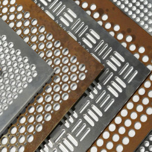 Strato d'acciaio della maglia del collegare perforato della lamina di metallo per decorativo