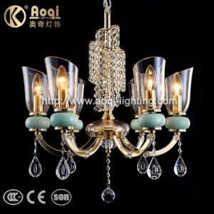 2017.10 El diseño más reciente de metal caliente de venta de la luz de lámpara de araña de cristal