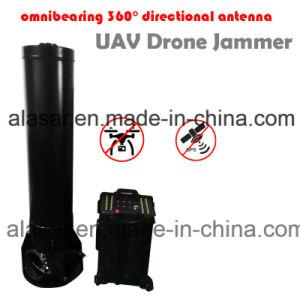 Alta potencia de 360 grados de bloqueo No Dead-Zone Uav Drone Jammer