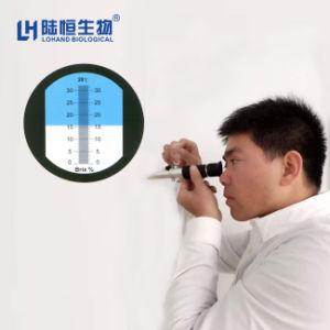 Medidor de Brix Portátil Digital refratômetro com preço baixo (LH-T32)