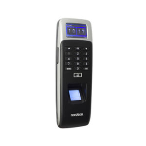 17의 언어는 IP65 ID 카드 접근 제한을%s 가진 생물 측정 통신망 지문 독자를 방수 처리한다