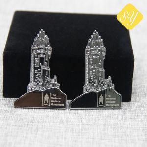 Antiker Bronzefabrik-dankbarer Decklack-Großverkauf-kundenspezifische Polizei-Abzeichen