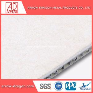 Los golpes de piedra de granito en forma de panal de aluminio paneles para pared