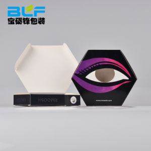 Custom цветных Eyelash бумаги в салоне с пускателем ПВХ