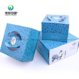 Gewölbtes Papier-Drucken-Papptortenschachtel