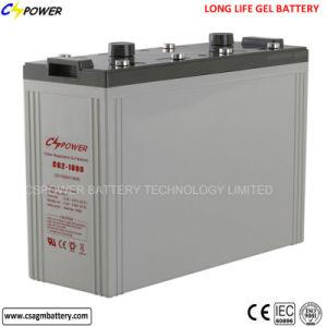batterij de Met lange levensuur van het Gel 2volts 1000ah voor Omschakelaar/het ZonneControlemechanisme van de Lader