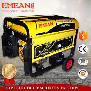 2.5kw si dirigono il generatore della benzina di uso con l'avviatore