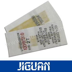 의복에 의하여 길쌈되는 레이블을 인쇄하는 도매 실크 스크린 의류 레이블