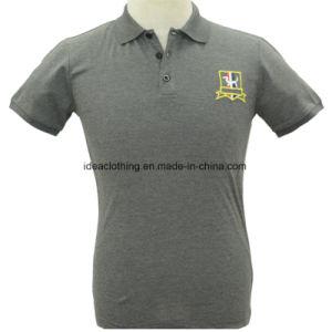 Venda por grosso de fábrica de manga curta masculina nova chegada 100% algodão camisas polo