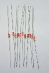 Encapsulado de vidrio de la serie 2 de termistor NTC