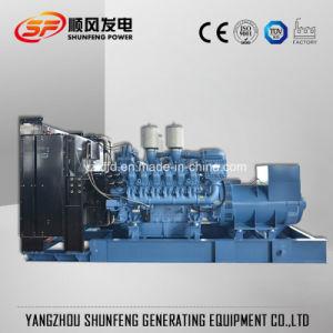 Grande puissance injection électrique 600kVA Groupe électrogène Diesel avec moteur MTU
