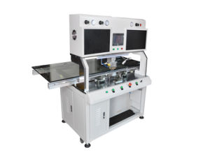 Einzelne Hauptimpuls-Wärme-Presse Cof/Tabulator Bondingmachine für Handy LCD