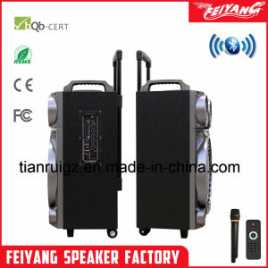 Luz LED de gran potencia altavoz Bluetooth con carro 12 pulgadas F12-22