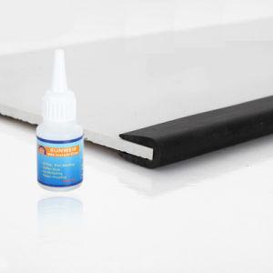 Resistente a UV EPDM perfis extrudados de borracha em U