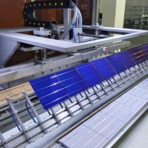 Zonnepaneel met het Zilveren en Zwarte Frame van het Aluminium