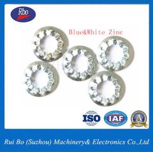 DIN plaqué zinc6798j rondelles dentelées interne avec la norme ISO
