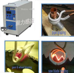 金属の合金の管ギヤのための高性能の誘導加熱機械は鋸歯の溶接のろう付け機械を、