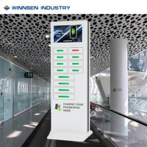 La pantalla de 22 de la red WiFi 3G Celular quiosco de la estación de carga