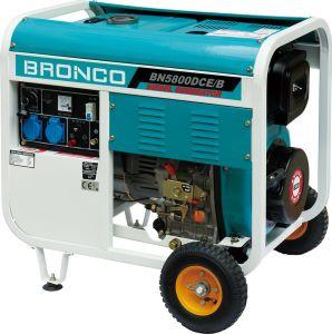 Open Diesel van het Type Enige Luchtgekoelde Generator Bn5800dce/B