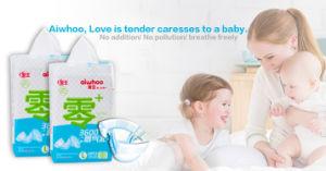 Breathable 3D 누출 가드 마술 테이프 처분할 수 있는 아기 기저귀