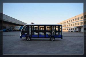 14 lugares autocarro eléctrico 72V, 5KW com alta qualidade