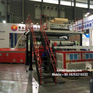 高度Spc Rvp堅いクリックのビニールの板の床の放出機械