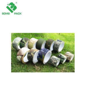 Ofrecemos el diseño de impresión la impresión de adhesivo de caucho y cinta adhesiva de tela paquete personalizado