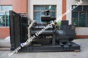 100kw 125kVA Shangchai Diesel Generator 50Hz 3 Phase Wasser-Cooled Power Generating Sets