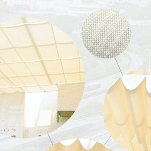 折る日除けのカーテンは別荘およびアパートの日曜日そしてガラス天井のために適している
