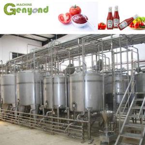 Planta de procesamiento de pasta de tomate personalizado para la fábrica