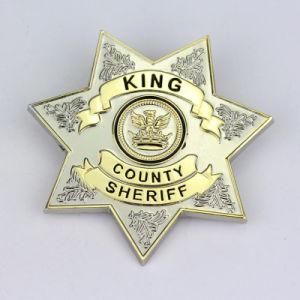 記念品のギフトの金属の装飾的な紋章のバッジ