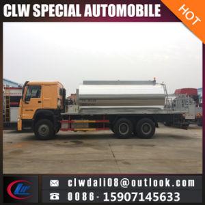 Camion di spruzzatura del bitume del camion del distributore dell'asfalto di 6*4 HOWO con il prezzo poco costoso