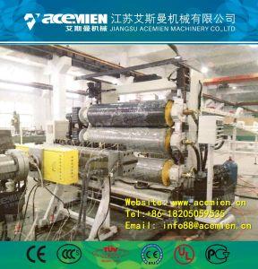 PVC vert imité le Mur de Marbre machine/le panneau d'extrudeuse