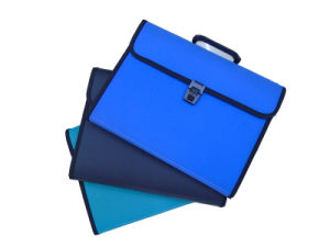 Libro di informazioni classificate di strato del dispositivo di piegatura il dispositivo di piegatura di archivio della fattura del Bill del sacco di carta dell'esame