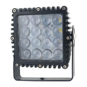 La Plaza de 80W de alta potencia LED lámpara de trabajo con lentes 4D