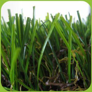 38mm Landschaftskünstliches Gras für Garten-synthetischen Rasen für Grossisten