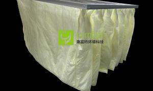 Lavable en F8 de eficiencia media del filtro de aire de bolsillo Industrial