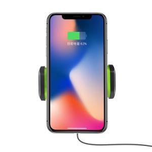 SamsungのiPhoneのための普及したチーの無線充電器車の電話ホールダー