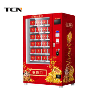 Tcn 2018 Venta caliente juguetes de regalo el armario de la caja de la suerte de máquina expendedora en Malasia