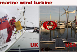 300W de rode Generator van de Windmolen van de As van de Lantaarn Verticale Kleine