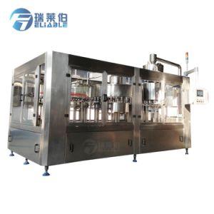 Grande macchina imballatrice di riempimento a terra dell'acqua potabile di trattamento di Liauid di velocità completa di capienza