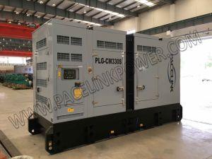 Cummis angeschaltener leiser Dieselgenerator 300kVA mit Cer ISO