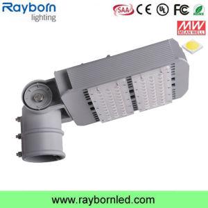 110V 220V montado en el polo del brazo de 200 vatios de iluminación LED de la calle al aire libre
