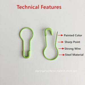 Erstklassiges Qualitätsgrün 22 mm-Länge überzogene Metalldekoration-Markierungs-Sicherungsstifte