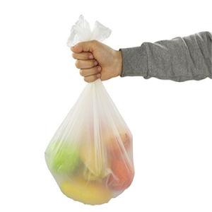 디자이너 인쇄 손잡이 동점을%s 가진 플라스틱 지속적인 쓰레기 롤 궤 부대
