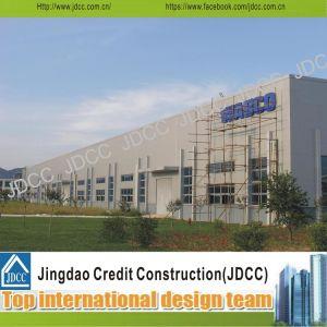 Jdccは軽い鉄骨構造の研修会を組立て式に作った