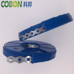 Los flejes de perforado de la banda de fijación de acero/ Las abrazaderas de tubo