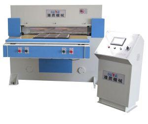 Xyj-3/200 التلقائي تغذية آلة القطع الهيدروليكية PLC السيارات توازن الطائرة PVC (XYJ-3/200)