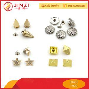 Les goujons de la pyramide Spike Rivet en métal Sac en cuir de rivets d'artisanat
